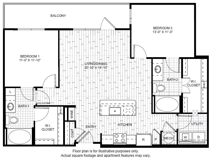 Floor Plan  B3 Floor Plan at Windsor CityLine, opens a dialog