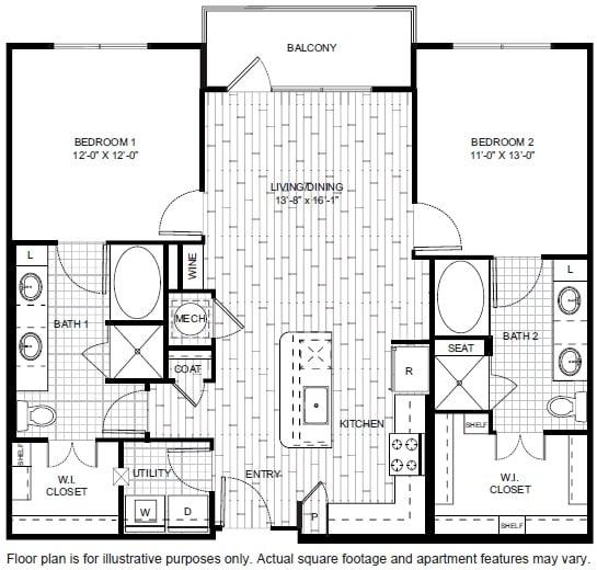 Floor Plan  B5 Floor Plan at Windsor CityLine, opens a dialog