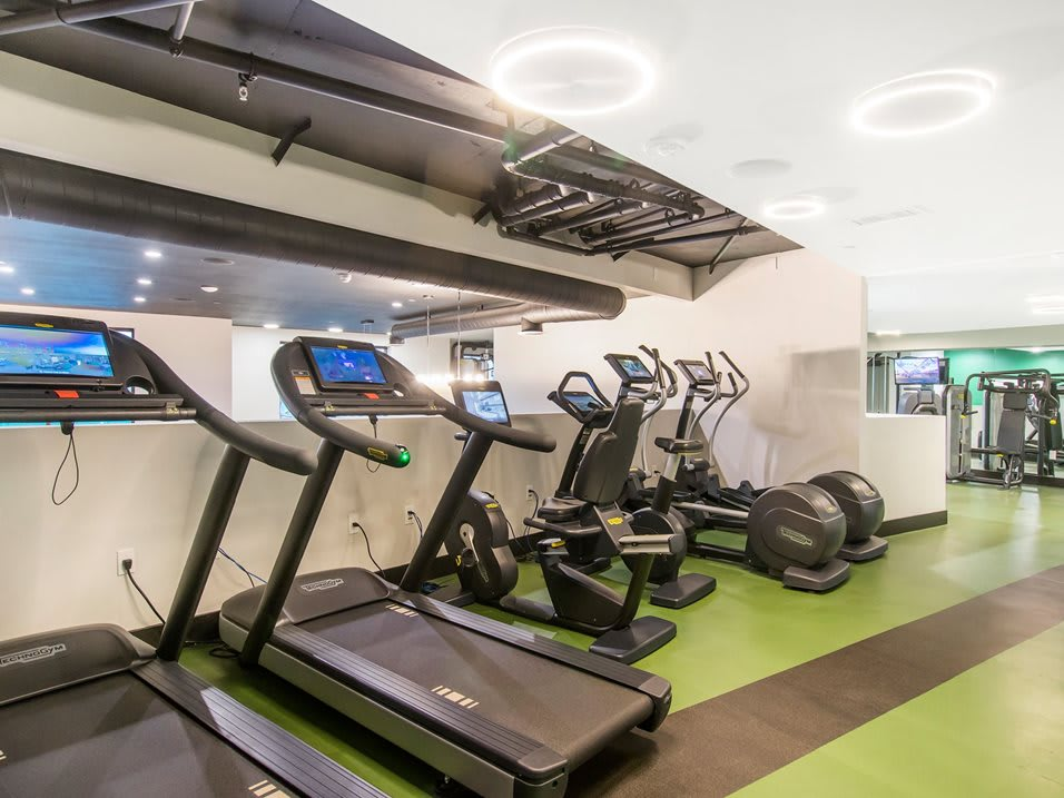 Fitness Center with TV's and WiFi at The Mansfield at Miracle Mile