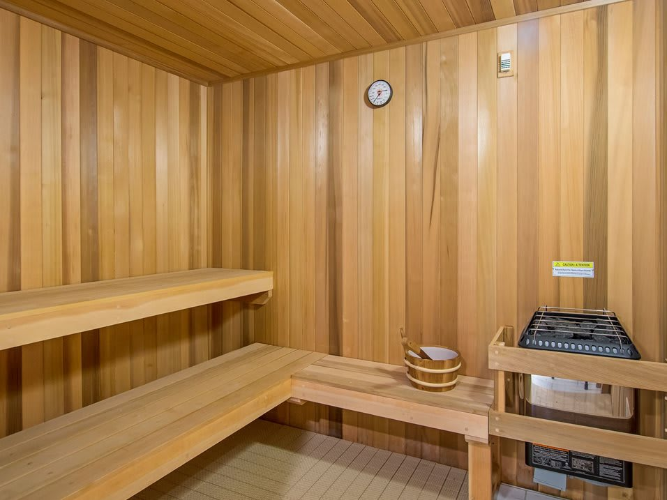 Dry Hot Saunas at The Mansfield at Miracle Mile, Los Angeles