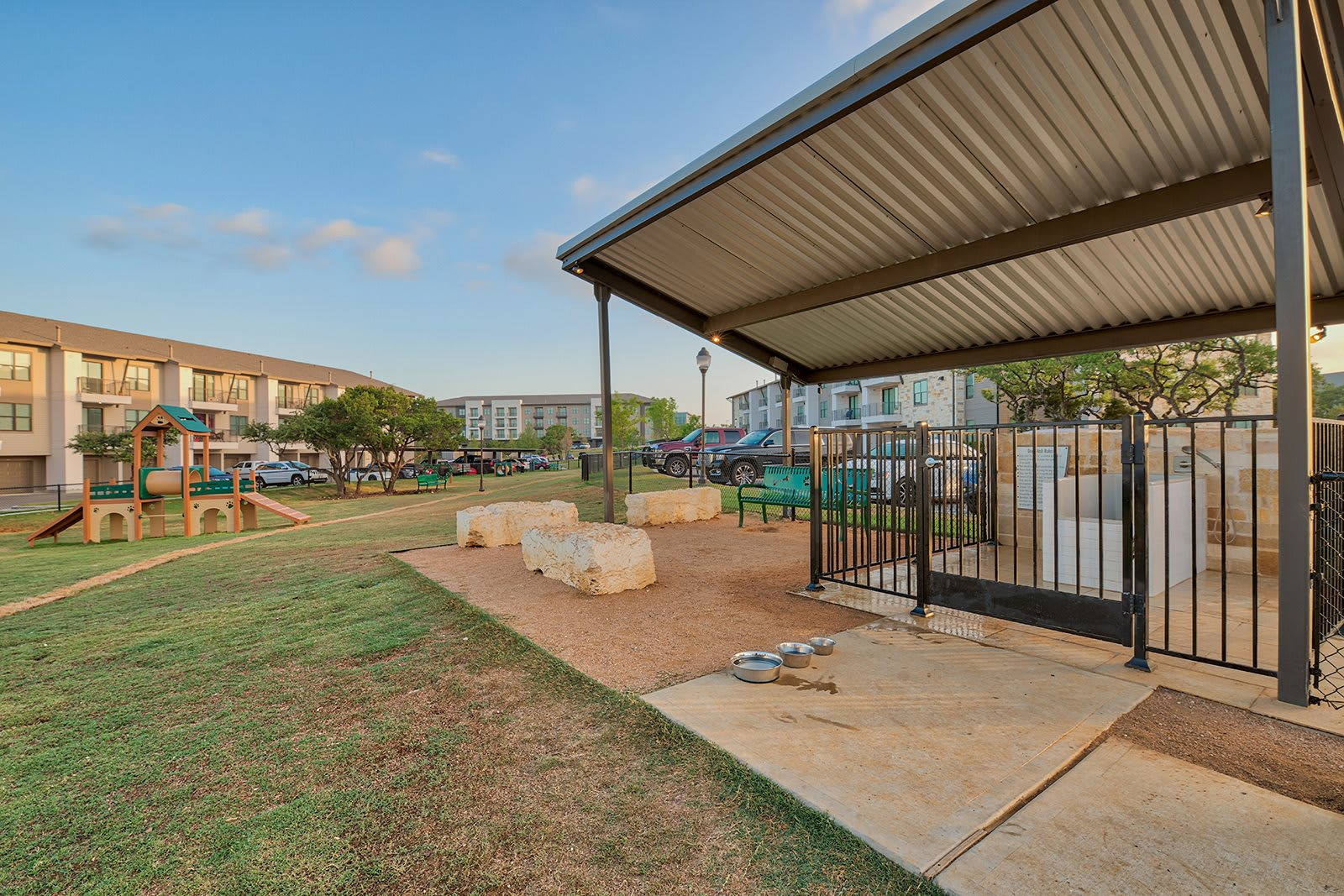 10,000 Square Foot Off-Leash Dog Park and Washing Station at Windsor Lantana Hills, Texas