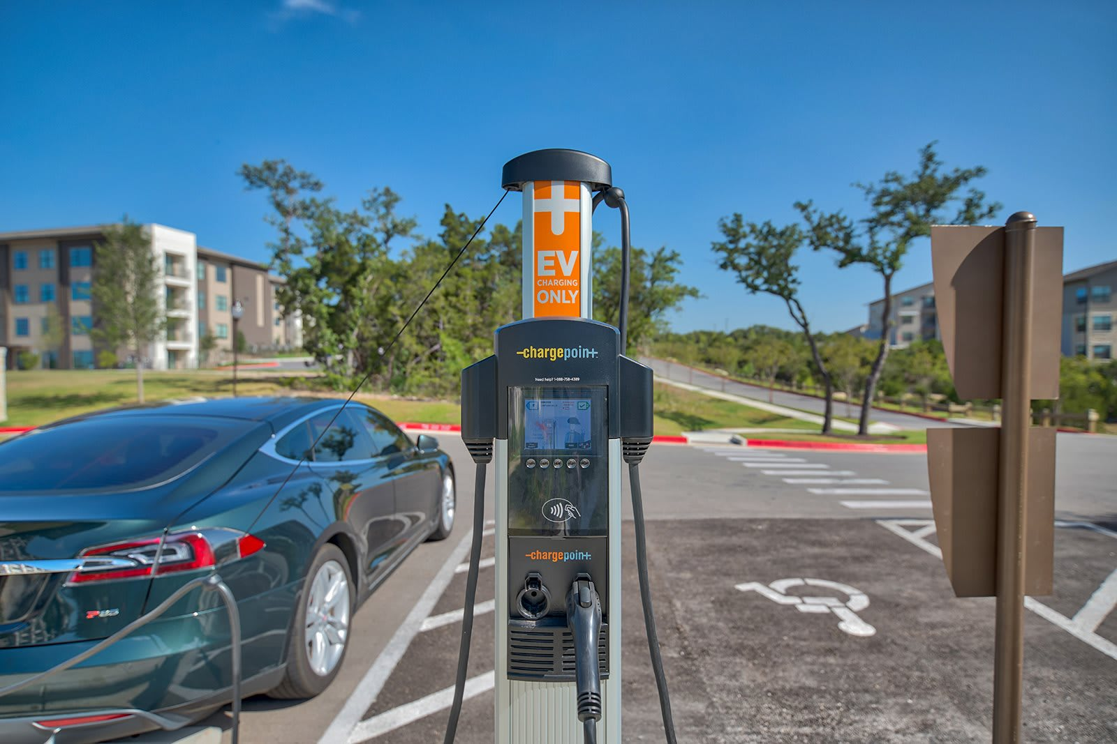 Charging Station For Cars at Windsor Lantana Hills, Texas