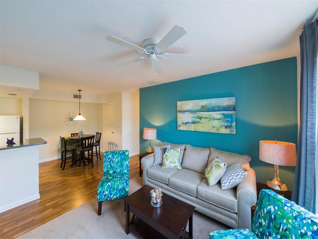 Spacious Living Area at Madelyn Oaks