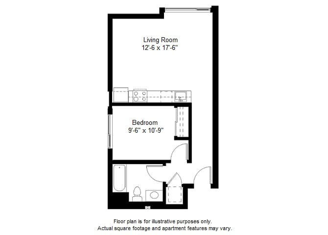 Floor Plan  A4 floor plan at Windsor at Dogpatch, CA, 94107, opens a dialog