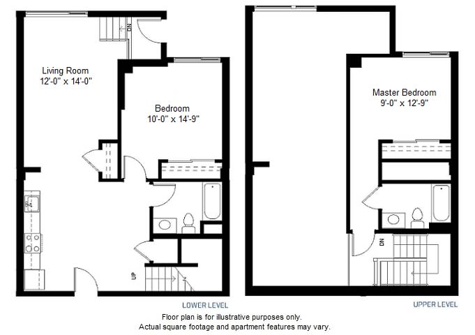 Floor Plan  B14 floor plan at Windsor at Dogpatch, California, 94107, opens a dialog