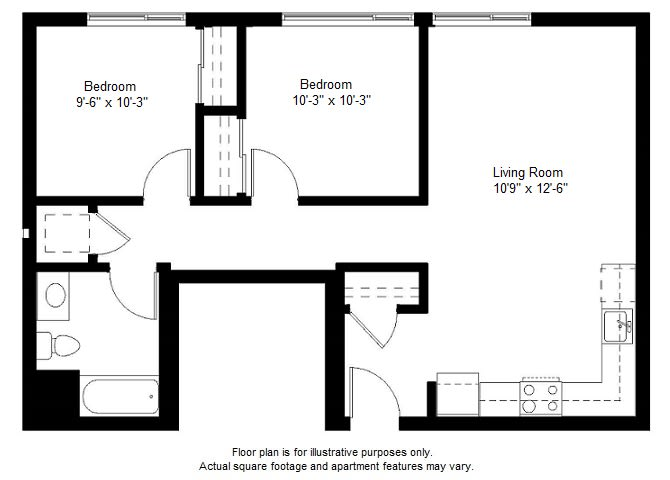 Floor Plan  B2 floor plan at Windsor at Dogpatch, CA, 94107, opens a dialog