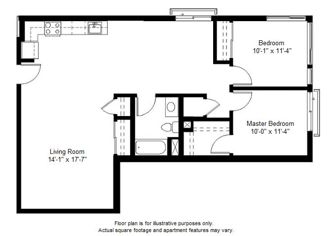 Floor Plan  B3 floor plan at Windsor at Dogpatch, 2660 3rd Street, 94107, opens a dialog