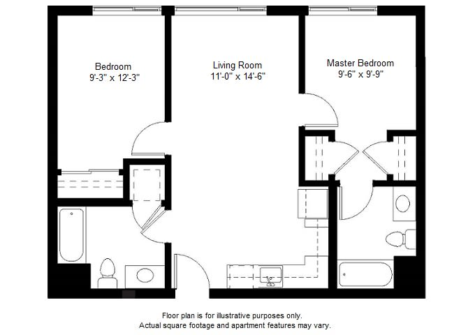 Floor Plan  B4 floor plan at Windsor at Dogpatch, San Francisco, CA, opens a dialog
