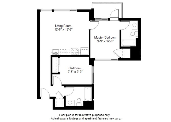 Floor Plan  B5 floor plan at Windsor at Dogpatch, 2660 3rd Street, 94107, opens a dialog