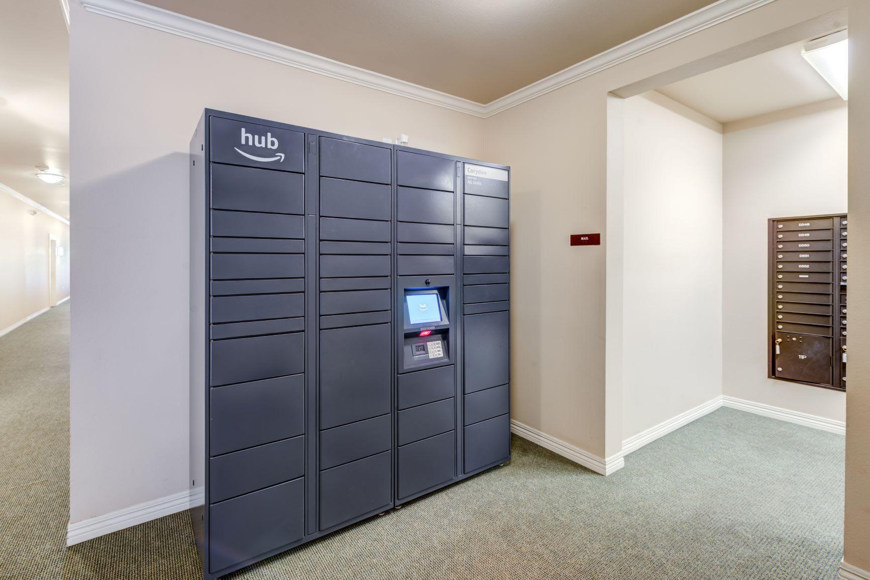 Luxor Package Locker at The Corydon, Seattle, 98105