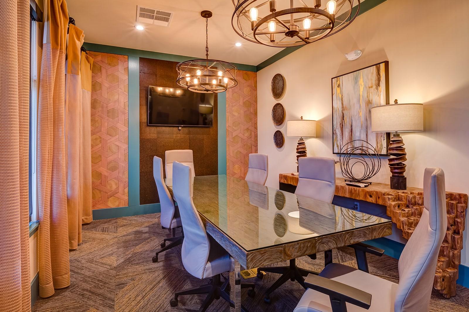 Conference Room at Windsor at Pinehurst, Colorado, 80235