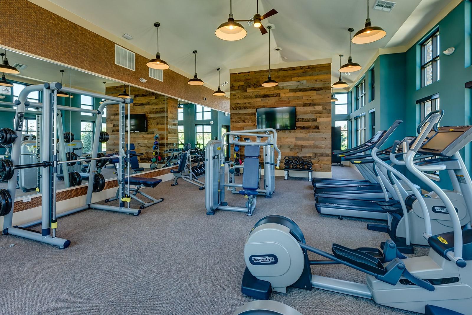 Fitness center at Windsor at Pinehurst, 3950 S Wadsworth Blvd, 80235