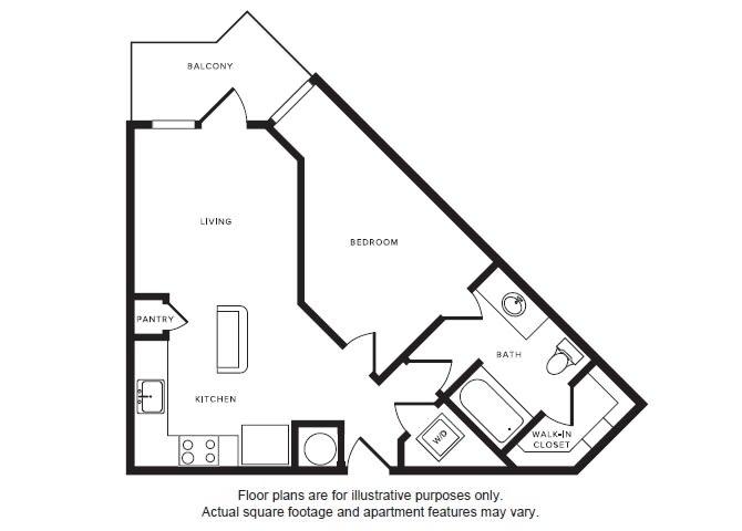Floor Plan  A1 floor plan at Windsor Shepherd, Texas, 77007, opens a dialog