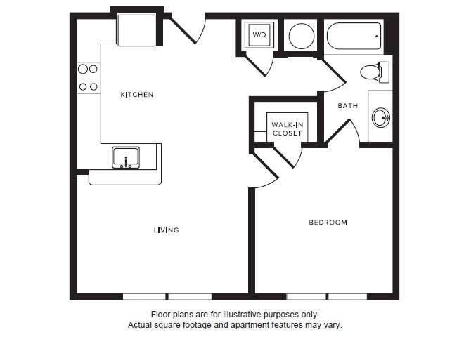 Floor Plan  A2 floor plan at Windsor Shepherd, Texas, 77007, opens a dialog