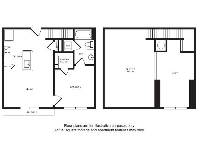 Floor Plan  A2L floor plan at Windsor Shepherd, 611 Shepherd Dr, 77007, opens a dialog