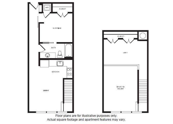Floor Plan  A3L floor plan at Windsor Shepherd, Houston, TX, opens a dialog