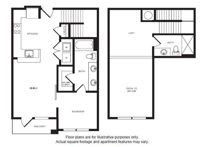Floor Plan  A4L floor plan at Windsor Shepherd, TX, 77007, opens a dialog