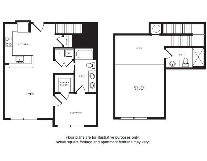 Floor Plan  A6L floor plan at Windsor Shepherd, Texas, 77007, opens a dialog