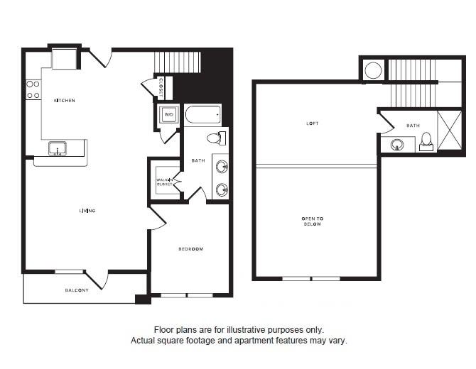 Floor Plan  A7L floor plan at Windsor Shepherd, Houston, TX, opens a dialog