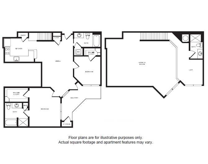 Floor Plan  B2L floor plan at Windsor Shepherd, Texas, 77007, opens a dialog