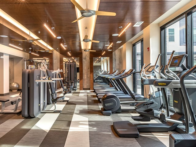 Fully Equipped Fitness Center at Windsor Turtle Creek, Texas