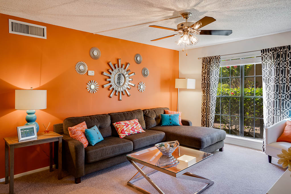 Bedroom with Ceiling Fan and Light