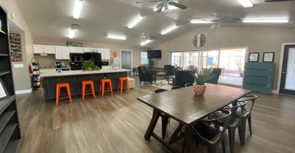 Clubhouse at Mission Vista Apartments in Tucson Arizona
