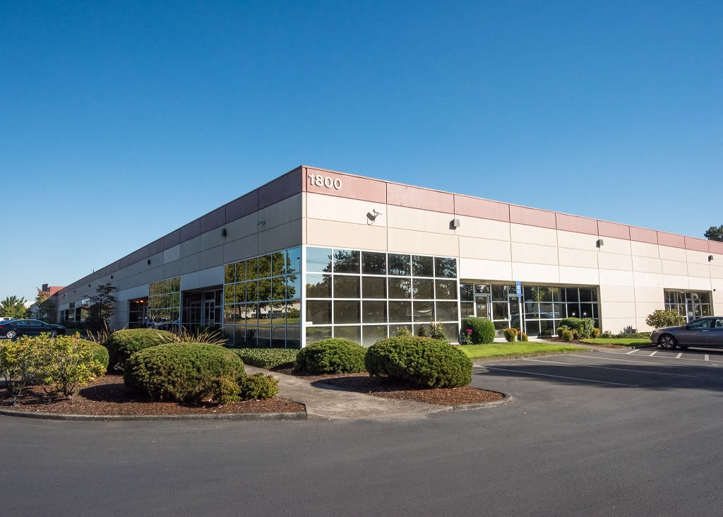 Sunset West Business Park Building Exterior Landscaping