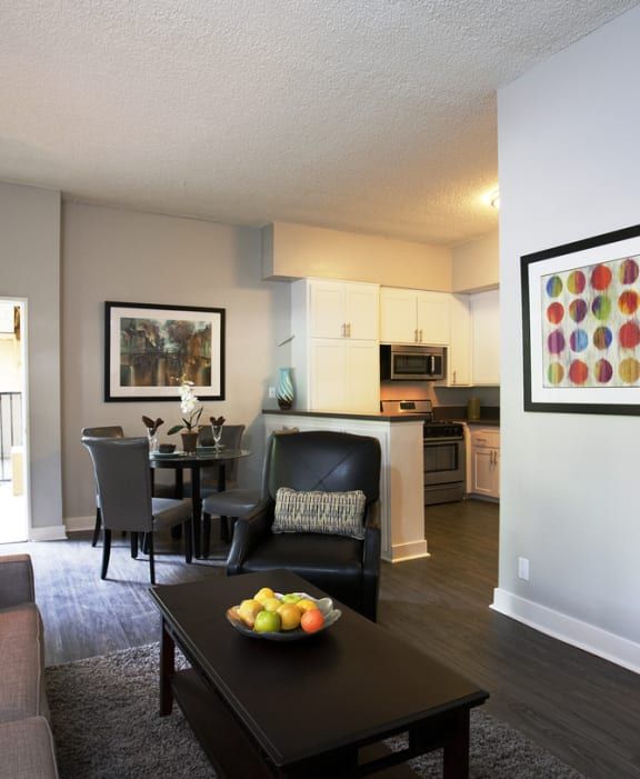 Axiom Westwood Luxury Apartments Model Furnished