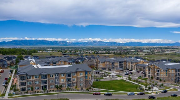 Aerial View of Community | Caliber at Hyland Village