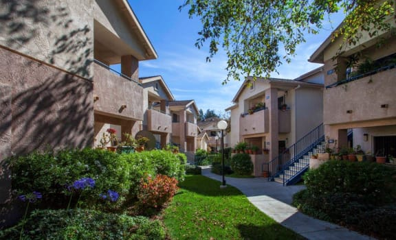 External View at Cypress Meadows Senior Apartments, Ventura, California