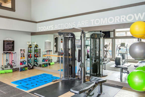 Westhaven Apartments Fitness Center