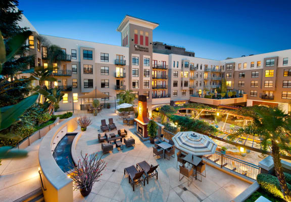 Magnificent Courtyard at Terraces at Paseo Colorado, 375 E. Green Street, Pasadena