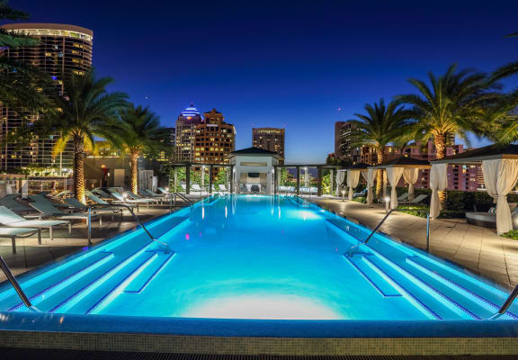 Shimmering Swimming Pool at Amaray Las Olas by Windsor, Florida, 33301
