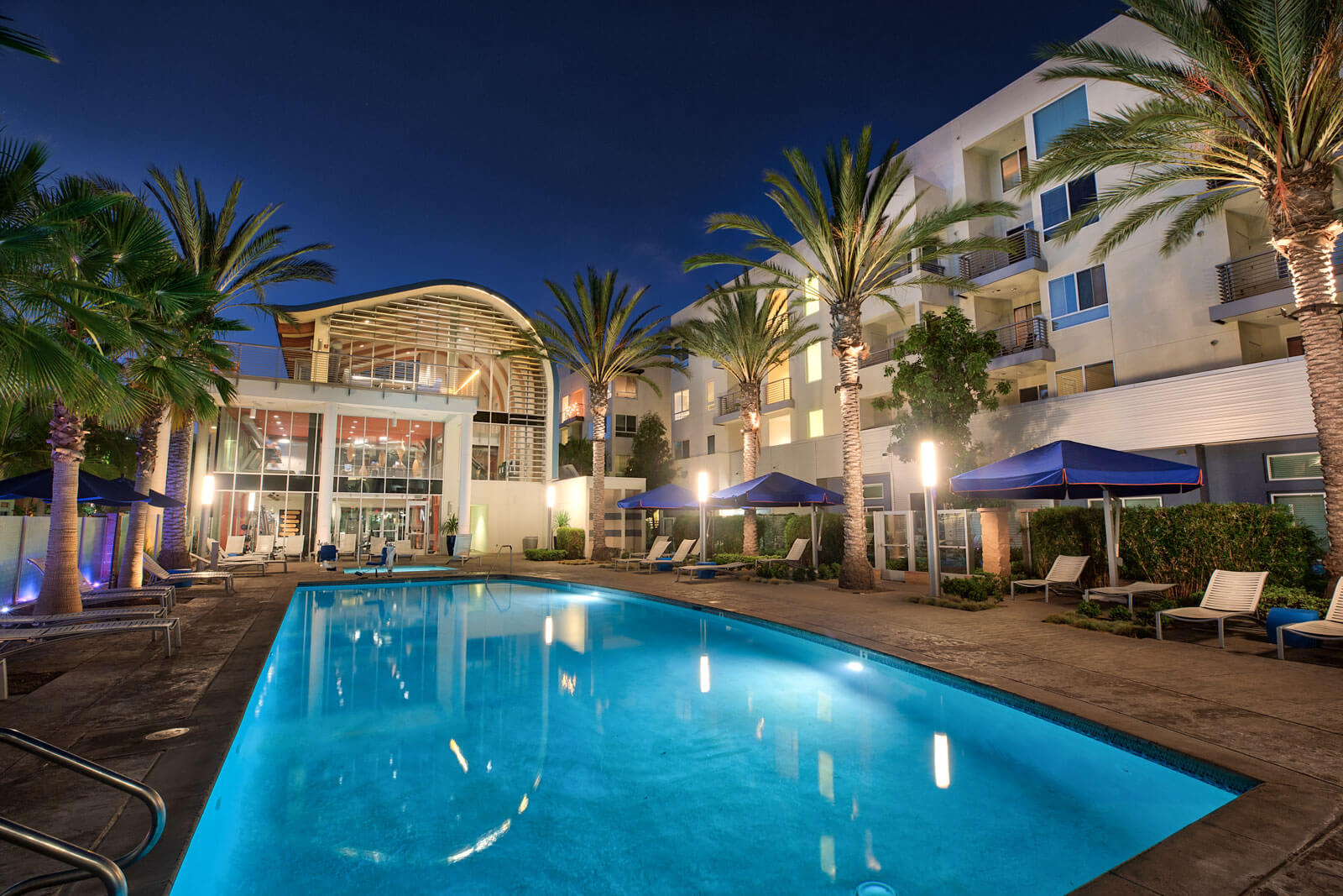 Over 30,000 Square Feet of Resort-Style Amenities at Boardwalk by Windsor, Huntington Beach, California