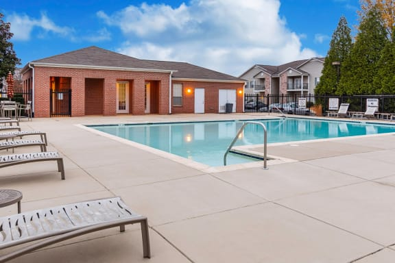 Swimming Pool With Relaxing Sundecks at Terraces at Southaven, Southaven, MS