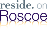 Reside on Roscoe Logo