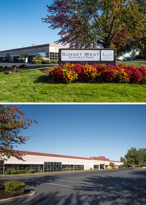 Sunset West Business Park Exterior Collage