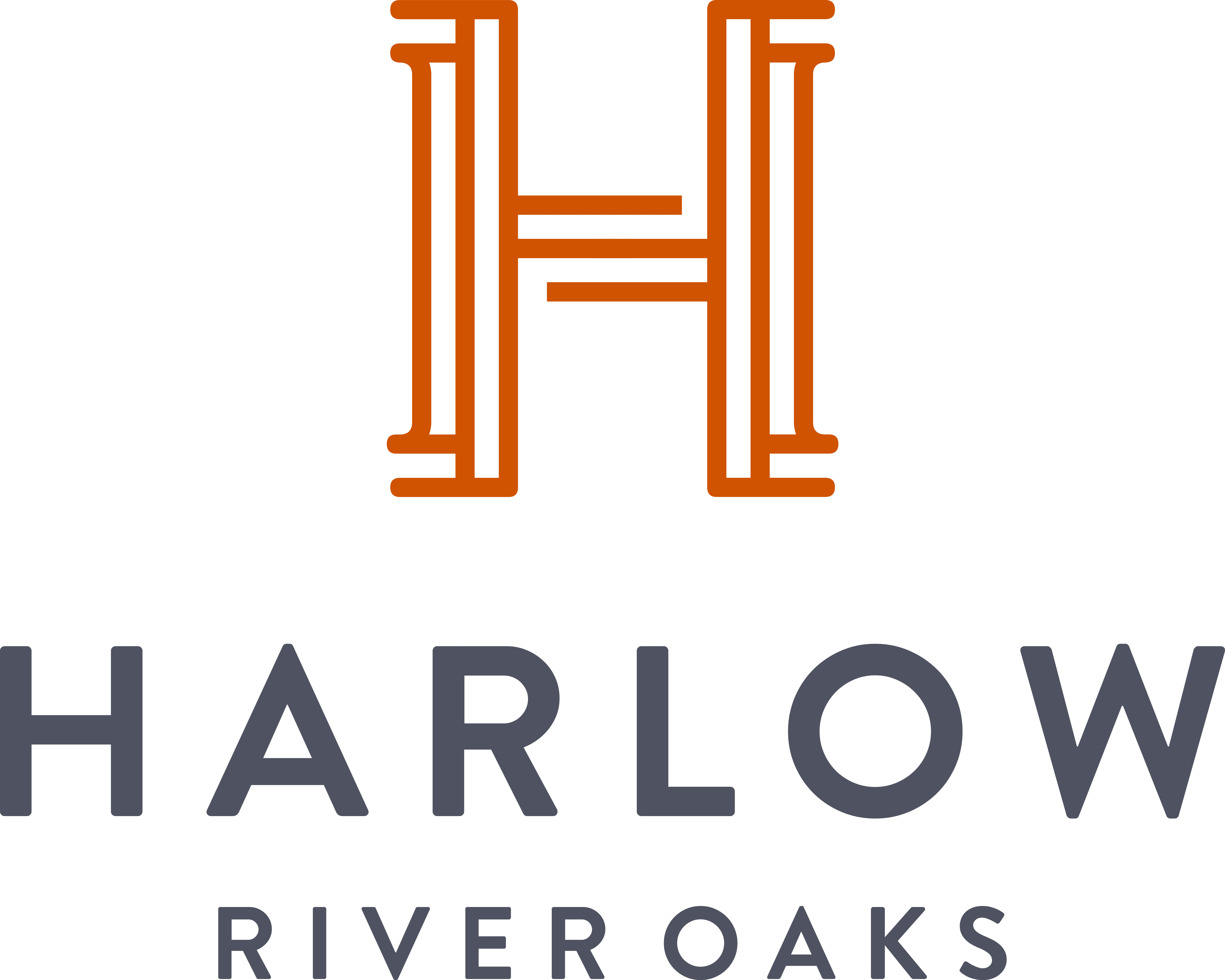 harlow river oaks logo