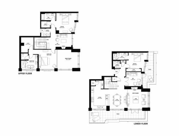 South 3103 penthouse at The Bravern, WA, 98004