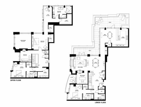 South 3101 penthouse at The Bravern, 688 110th Ave NE, WA