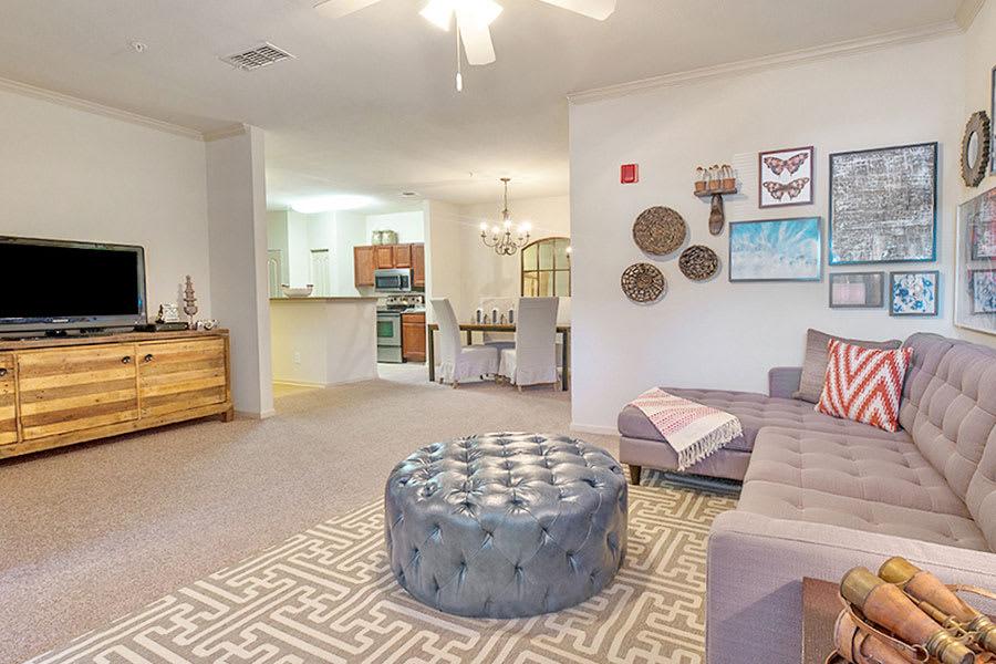 Spacious Living Room at North River, Tuscaloosa, AL, 35406