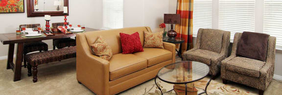 Cozy Living Room at Talavera at the Junction Apartments & Townhomes, Midvale