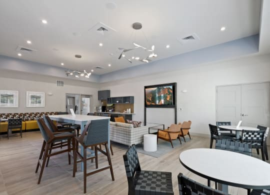 Clubhouse With Catering Kitchen at Waterside at Reston, Virginia, 20194
