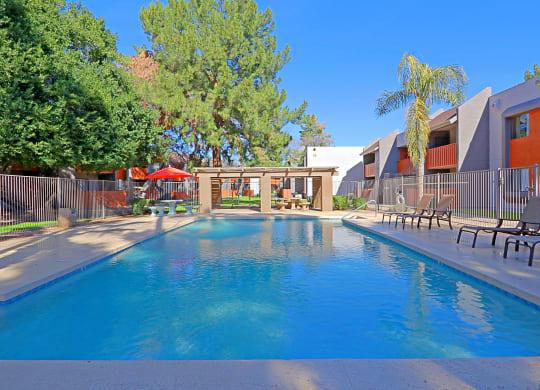two beautiful pools