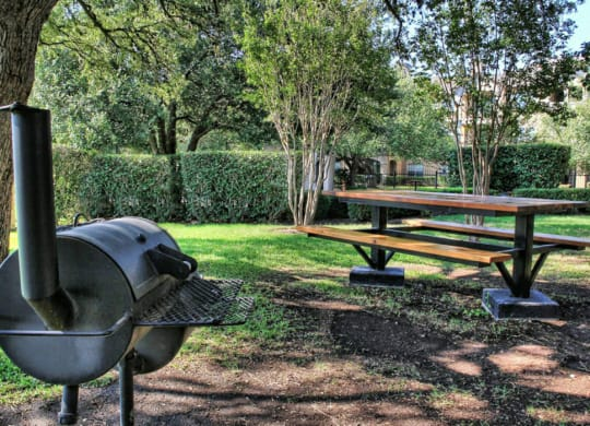 BBQ and Grill Areas