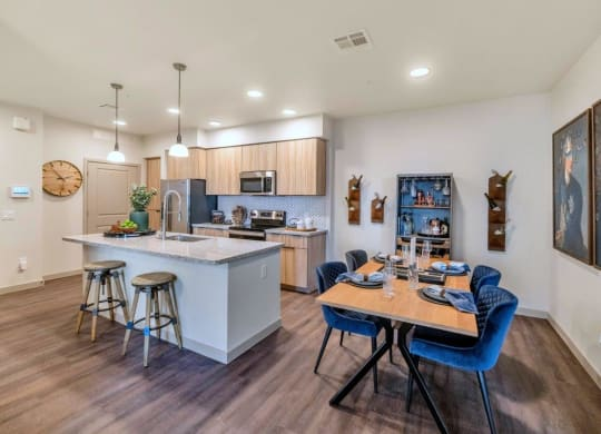 Fully Equipped Eat In Kitchen at Grayson Place Apartments, P.B. BELL Assets Management, Arizona, 85395