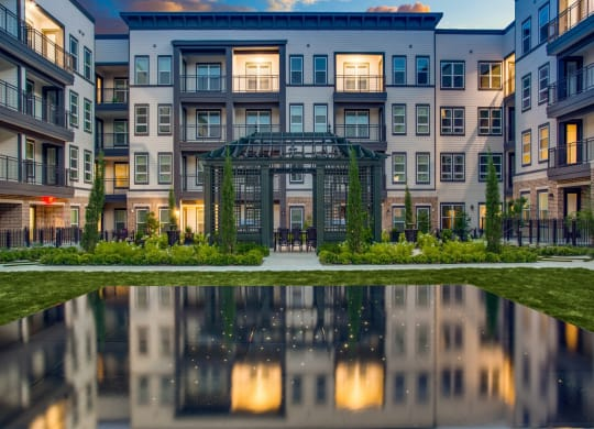 Luxury Coppell community with green space