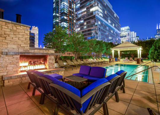 Luxury Apartment Homes Available at Flair Tower, 222 W. Erie Street, Chicago
