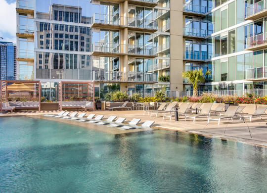 Infinity Edge Pool at Glass House by Windsor, Texas, 75201